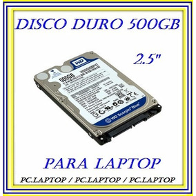 Disco Duro 500gb 2.5 Sata 5400rpm Para Laptop