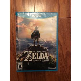 Zelda Breath Of The Wild Juego Nuevo Sellado Wii U Stock