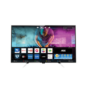 Smart Tv Led 55 Aoc Le55u7970 Uhd 4k 3 Hdmi 2 Usb Wi-fi 60hz
