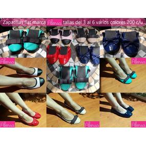 Vendo Zapatillas Flat En Varios Colores Y Tallas 200 C/u