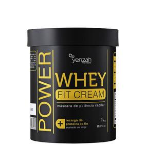 Yenzah Power Whey Fit Cream - Máscara Reconst 1000g Blz