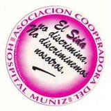 Calcomania Autoadhesiva Del Hospital Muñiz Del Sida Sin Usar