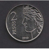 Argentina 2010 Moneda 2 Pesos Conm. Banco Central S/c