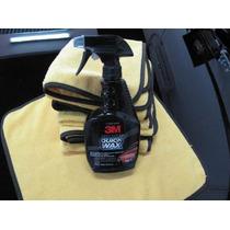 Shiny Cars   3m Quick Wax Cera Rápida En Spray + Microfibra