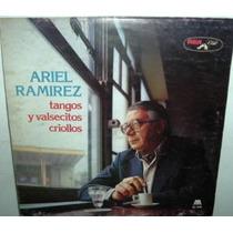 Ariel Ramirez Tangos Y Valsecitos Criollos Vinilo Argentino