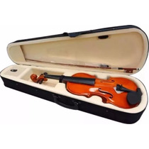 Violino Marques 4/4 Arco Breu Estojo Luxo Completo !