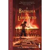 Livro Percy Jackson - A Batalha Do Labirinto #
