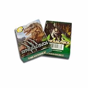30 Mazos Naipes Dinosaurios. Ideal Souvenir. Envío. La Plata