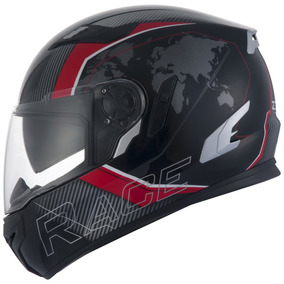 Capacete Zeus 813 Race An10 Black/red (special Edition)