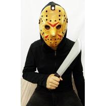 Máscara Jason Com Facão Kit