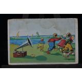 Cartão Postal Antigo De 1912 (circulado) - Gramofone