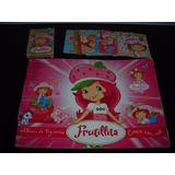 Album De Figuritas Frutillitas + Juego De Naipes Cartas