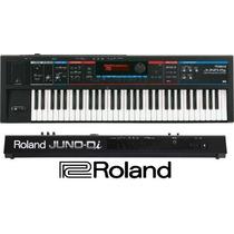 Teclado Juno-di Sintetizador Roland Com Fonte