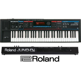 Teclado Juno-di Sintetizador Roland Com Fonte Nota Fiscal