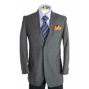 Exclusivo Saco Blazer Sastre Talla 36r Color Gris
