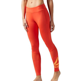 Leggins Malla Deportiva Workout Ready Mujer Reebok Bk5085