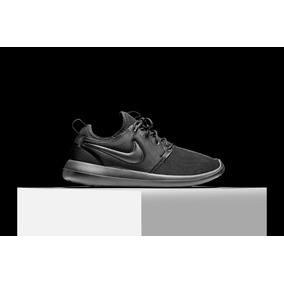 Tenis Zapatillas Nike Roshe Two Negra Hombre Mujer Env Gr