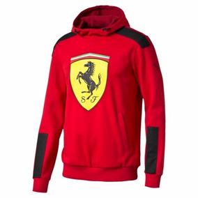 Puma Ferrari Chamarra Sudadera Sf Escud Original Roja +envio