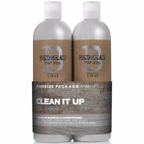 Tigi Bed Head Clean Up Men Shampoo + Condicionador 750ml