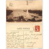Postal Plaza Des Quinconces Bordeaux Francia De 1912