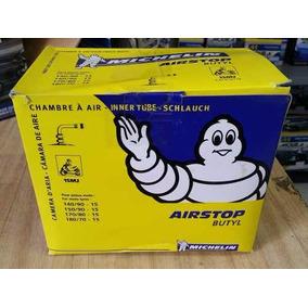 Camara Ar Michelin Moto Aro 15 Mj Bico Torto 140/150/170/180