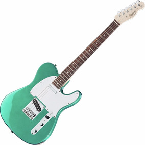Guitarra Fender Squier Affinity Telecaster Rw Racing Green