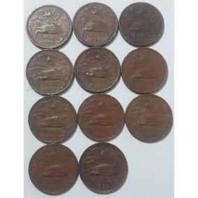 Moneda De Cobre 20 Centavos 12 Piezas