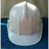 Capacete Novel Branco P/ Construção Civil Aba Frontal (327)