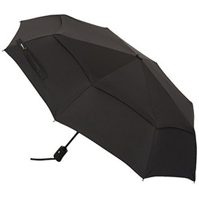 Umbrella Travel Amazonbasics Automático Con Viento Vent