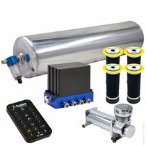 Kit Ar Bloco V3 10mm+cilindro De Alumínio-gol Quadrado 91/95