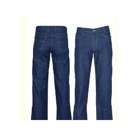 Calça Jeans Básica Azul (trabalho, Curso De Formação) Vinco