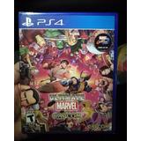Ultimate Marvel Vs Capcom 3 Ps4 / Nuevo Sellado + Garantia