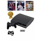 Ps3 Play Station 3 160gb + 22 Juegos Digitales Y 1 Físico