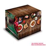 Cozinhas Do Mundo Coleção Folha 28 Livros Novos