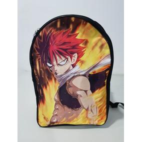 Mochila Backpack De Fairy Tail, Natsu