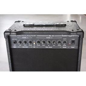 Amplificador Autec Ma-50 Para Bajo, Guitarra, Teclado Y Voz