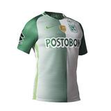 Camiseta Oficial Atlético Nacional Logo Libertadores Nike