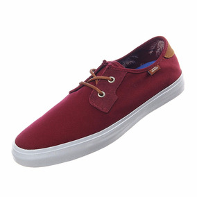 Tenis Vans Casual Authentic Michoacan Sf Vn-00019iio7 Vino