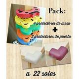 Pack De Protectores De Mesa Y Puerta