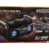 Multireproductor Dj-100/dj200 /dj 300 Stromberg Bluet Mp3 Us
