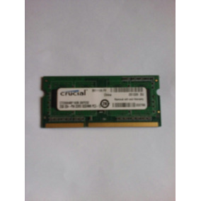 Memoria Ram Para Laptop Crucial Pin Ddr3 2gb Pc3 - 12