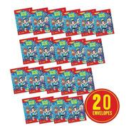 Kit 20 Envelopes P/ Álbum Luccas Neto (80 Fig. +20 Cards)