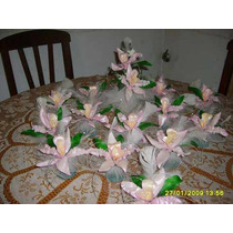 Orquideas En Porcelana Fria