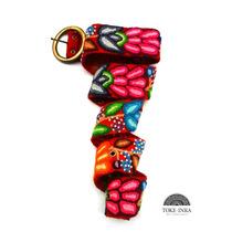 Cinturones Bordado A Mano, Cintos Tejido 100% Artesanal Inca
