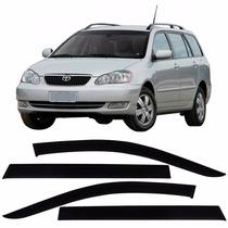 Calha De Chuva Defletor Corolla Fielder 2004 A 2008 4 Portas
