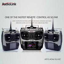 Radiolink At9 2.4 Ghz 9 Canais Transmissor Aeromodelo Modo2
