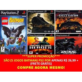 Justice League Heores (kit 5 Jogos Ps2 Liga Da Justiça