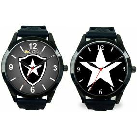 Kit 2 Relógios Pulso Esportivo Botafogo Masculino Barato. R  120 03f26ca1d9
