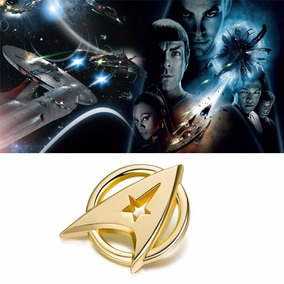 Pin Star Trek (p18) Jornada Nas Estrelas - Dourado