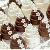 Confeitos De Açúcar - Flores 300 P/ Mini Bolo S/ Folhas